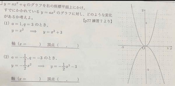 数学です この問題の解き方を教えてください