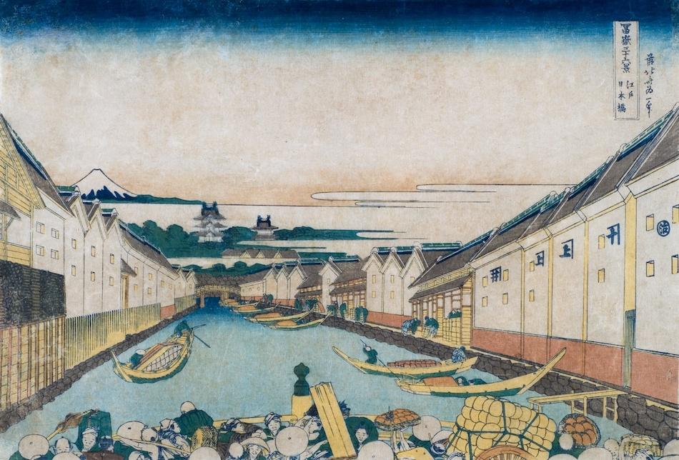 浮世絵に描かれている「江戸城」で高層の建造物がありますが、あれは何という名称の建造物なのでしょうか? 江戸城について調べてみますと、1657年に焼失してからは天守閣は建造されていないはずですが、 葛飾北斎「冨嶽三十六景 江戸日本橋」 歌川広重「名所江戸百景 日本橋雪晴」 など、後世の浮世絵などに3、4階建て以上の高層の建造物が描かれているのが見受けられます。 これらの建造物についての名称を含む、情報をお教えいただければと思います。 よろしくお願いいたします。 「富士見櫓」や「巽櫓」ぽいのですが、違いますよね?