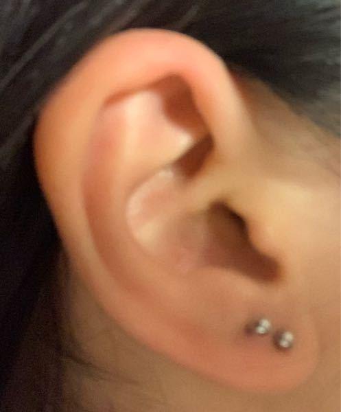 この耳はインダストリアル開けれるでしょうか? また、この位置なら開けれる、似合うなどありましたら回答お願いします。