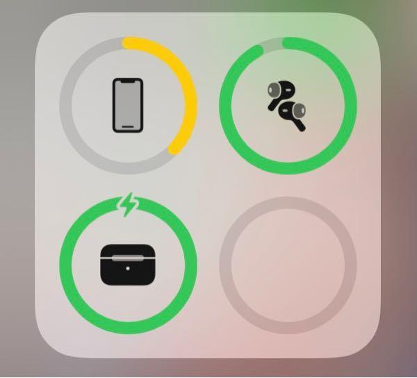 AirPods proです。 ケースを充電していないのに充電されている表記がされていて、イヤホンはケースに入れているのに充電されていません。これは壊れてしまったのでしょうか?