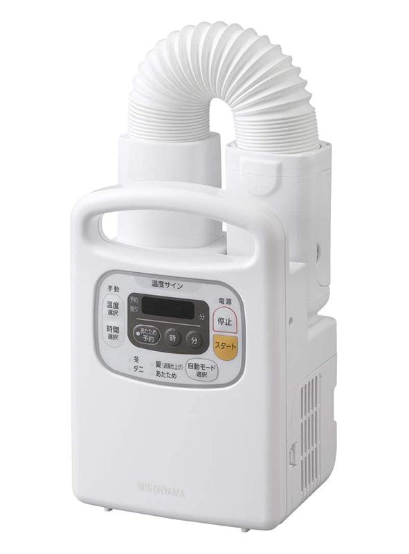 アイリスオオヤマの布団乾燥機を買いました。 タイマーがついてるので時計がついてるんですが、電池がないんです。 取説をいくら読んでも電池のことはまったく載っていません。 使用中に充電するのかとも思...