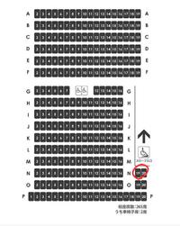 映画館の座席、急ぎです。  映画館の座席でここの席は首が疲れるor見え方はいまいちでしょうか? 座ったことがある方、よろしければ教えて下さい! お願いします。