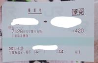 乗車変更の切符??ってどうやって使うんですか?? てか改札どうやったら通れますか?? すみません。田舎娘なので…