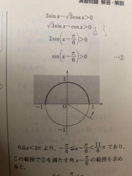 高校数学です。なんでこうなるんですか?