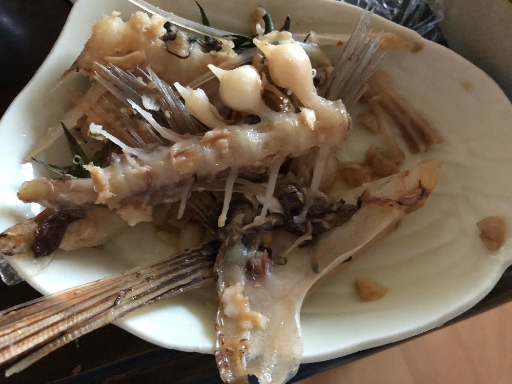 食べてしまって気づいたけど、タイのアラです。骨の異常?ではないですか?
