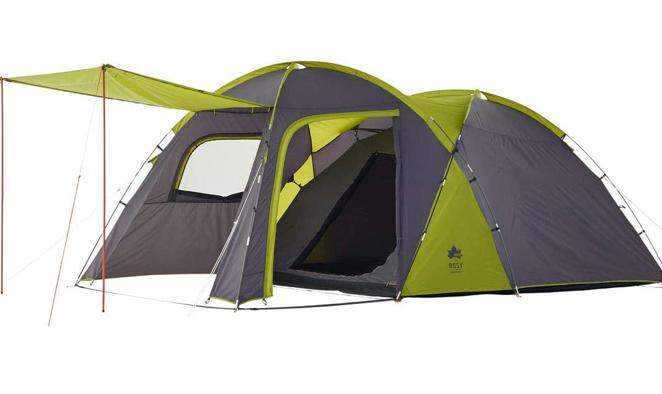 ロゴス(LOGOS) ROSY ドゥーブルXL-BJ この夏からキャンプデビューしようかと上記の品を購入検討中で 夫婦のみ、家族4人(夫婦、小学生の子供2人)での使用を考えてます。 そこで複数、質問があります。 (回答またはアドバイスを求めています) 1. フライシート耐水圧が1000と他テントと比べ低いが問題はないですか? 2. 専用インナーテントを付けると前室が狭くなるがタープは不要な範囲ですか? 3. 前室で気をつけながらのアルコールストーブや固形燃料を使用した炊飯や湯沸かしは大丈夫ですか?