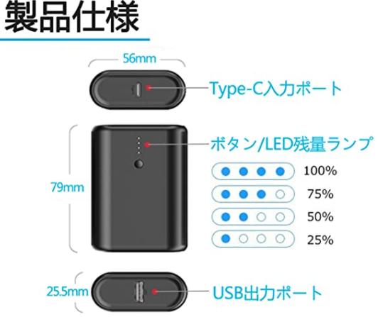 モバイルバッテリーの 入力ポート、出力ポートの意味がよくわからないのですが 普段上のTYPEC 入力ポートからIPHONE に充電していますが充電できています。 普段上のTYPEC 入力ポートからこのモバイルバッテリーを充電していますが充電できています。 上のTYPEC 入力ポートには PD、in/out の文字があります。 質問。 上のTYPEC 入力ポートからこのモバイルバッテリーは充電器できますが、同ポートを使用してIPHONE 等の機器を充電することもできます。下のUSB出力ポートからバッテリーを充電できますが(?)同USB出力ポートを使用してIPONE 等の機器を充電することもできます(?)。 つまり、上のTYPEC 入力ポート でも 下のUSB 出力ポートでも どちらでも このモバイルバッテリーを充電できるし、どちらもポートでも他の機器を充電できる。 てあってますか?