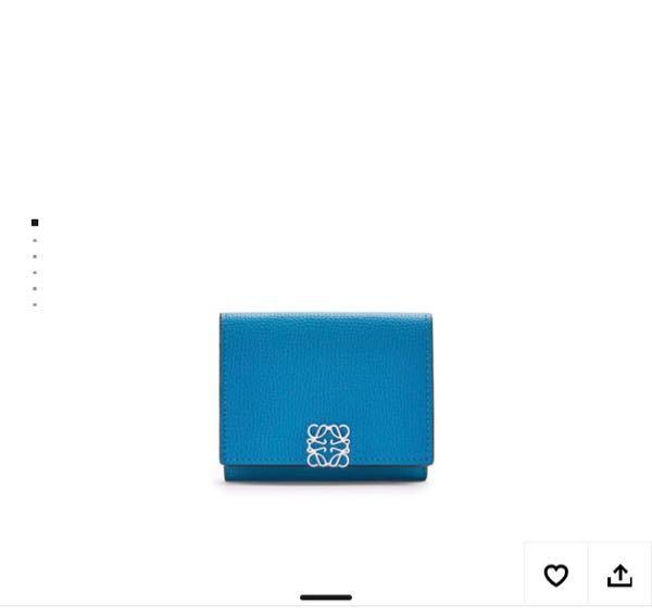 19歳の人がこの財布を使ってたらどう思いますか? 地味ですか?LOEWEのです。