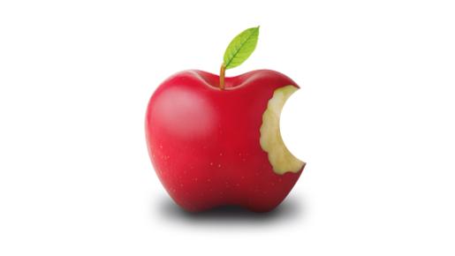 アップルのリンゴマークは黄金比だと聞きました。 究極の美ですか? 美しく見えますか?