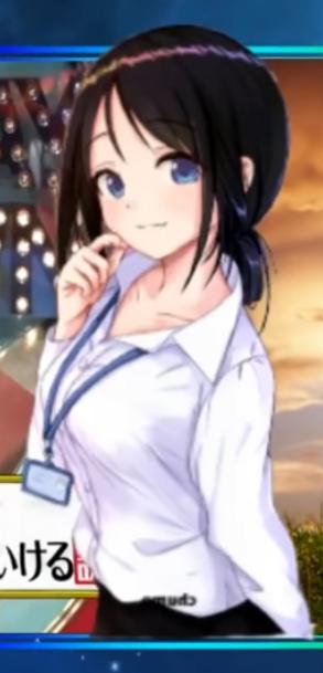 このキャラクターってなんかのアニメのキャラなんですか?なにか知ってる人いたら教えて欲しいです