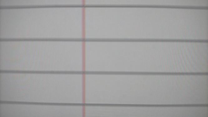 Aviutlを使っていると拡張編集で下の画像の赤い線が途中で消えてしまうようになってしまいました。 真ん中を過ぎたあたりから点滅しだして最後にはこの線が全く見えなくなります。正直とても使いにくいです。対処法はありますか? できれば再インストールはしたくありません。
