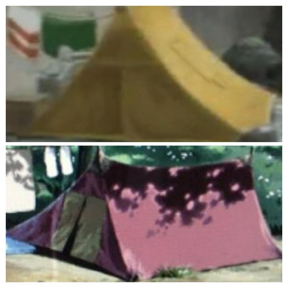 昔のテントについて このテントの名称や分類はなんですか。 また、現在も製造販売しているメーカーはありますか。 ご存じでしたら商品名も合わせてお願いします。