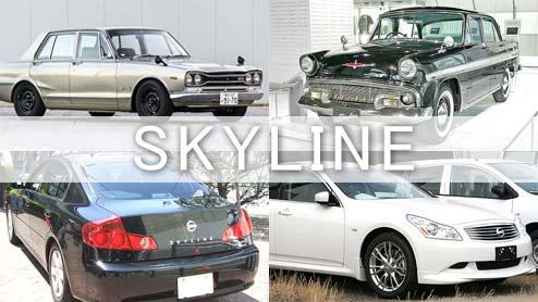 日産スカイラインといえば、どの車ですか?