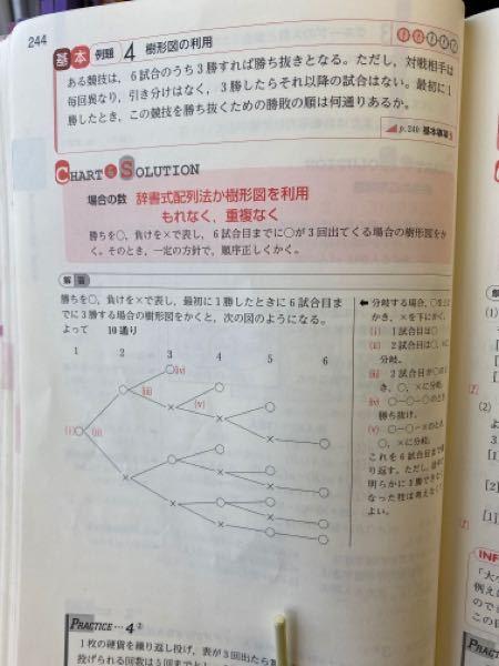 数A、何通りあるか求める問題についての質問です。 こちらの問題、樹形図を使って求めるのですが、計算でもっと簡単に求めることはできないでしょうか?