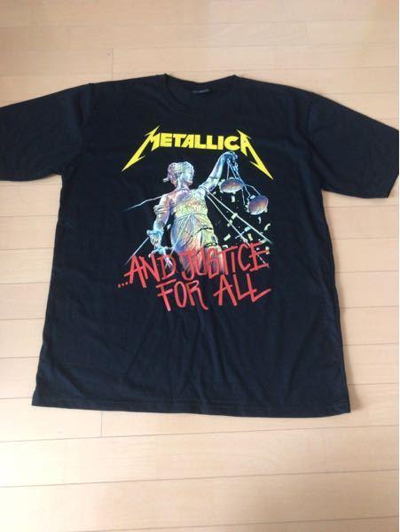 このメタリカのバンドTシャツは本物でしょうか。