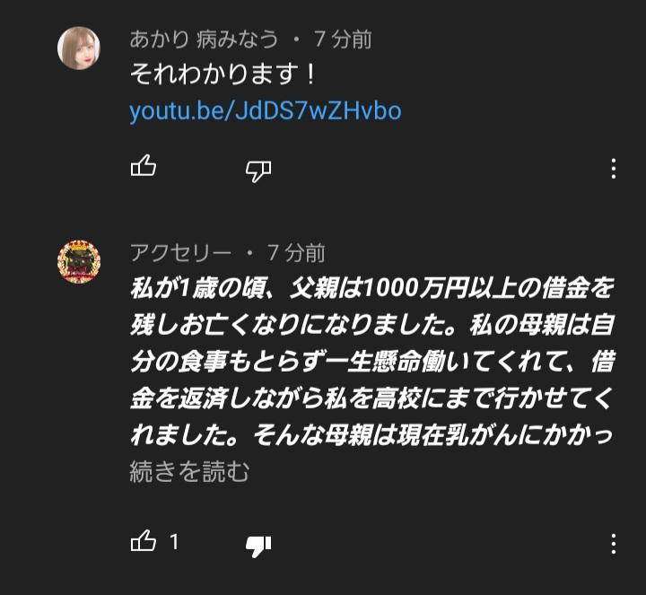 YouTubeのコメント欄荒らす人、なんなんでしょうか。 まぁ、そういっても仕方ないし、なくならないことだとは思います。 気にしない、無視することが一番ですかね?