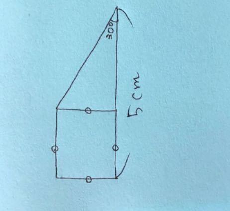 ネットでたまたま見た小学5年生の問題です。 面積を求める問題なのですが、答えと解き方を教えてください。