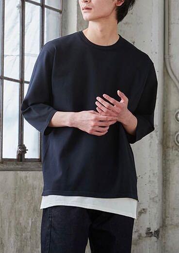 この写真のような半袖でもない長袖でもないTシャツってなんて名前でしょうか? また、GUやユニクロで販売しているでしょうか? よろしくお願いします。