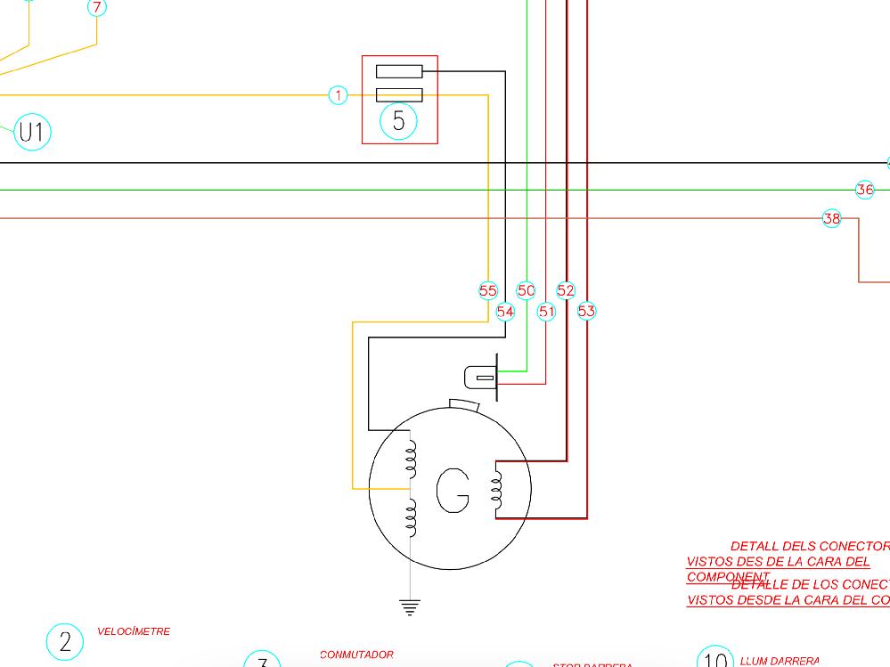 バイク(GASGAS)の電気系統でヘッドライト以外、ハーネス無しの車両を、公道化(LED化)も含め自作配線を検討しています。 添付のコイル図面から、⑤の配線(殺してある黒線と黄色線)に中華単相レギュレーターを取り付け、直流OUTした所、アイドリングで5V、吹かして10Vぐらいの出力を確認。直流OUTにフィラメントのヘッドライトを付けたところ、アイドリングでロウソクレベル、吹かして暗めの懐中電灯ぐらいでした。 これまでヘッドライトは、⑤の黄色線とアースで交流で点灯していました。 テール、ウィンカー他も追加していく為、更に電力不足になるのでは? 明るさ確保の為、対策はあるのでしょうか? オールフィラメントで交流レギュレーターで頑張るしかないのでしょうか? 純正のレギュレーターはアースと⑤の黄色線と繋がっているので交流レギュレーターかと? 何か良い方法が有れば教えてください。