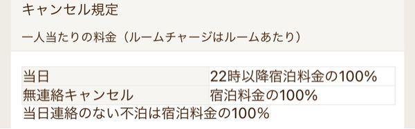 2人で1万円の宿を取った場合キャンセルしたら5000円払うってことですか?