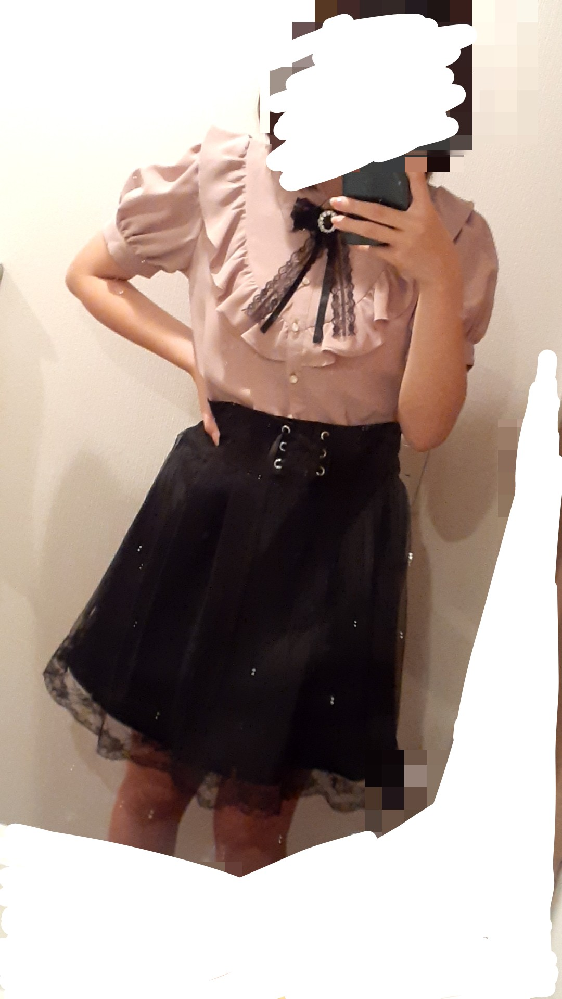 見た目重視だとバランス的にもスカートもう少し短くしたほうがいいですかね?