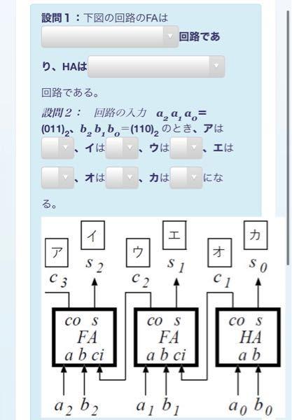 論理回路の問題です! 考え方がわかりません。 どういう風に答えを導くか教えていただきたいです。