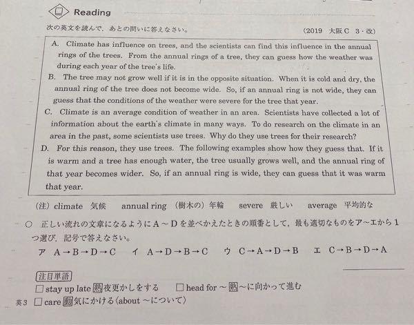 この問題の答えをお願いします 英語 中3 受験生