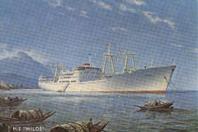 なぜこの船(Milos)の燃料搭載量は959トンなの?