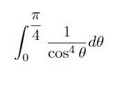 定積分の問題で、答えは4/3です。何で置換しますか?