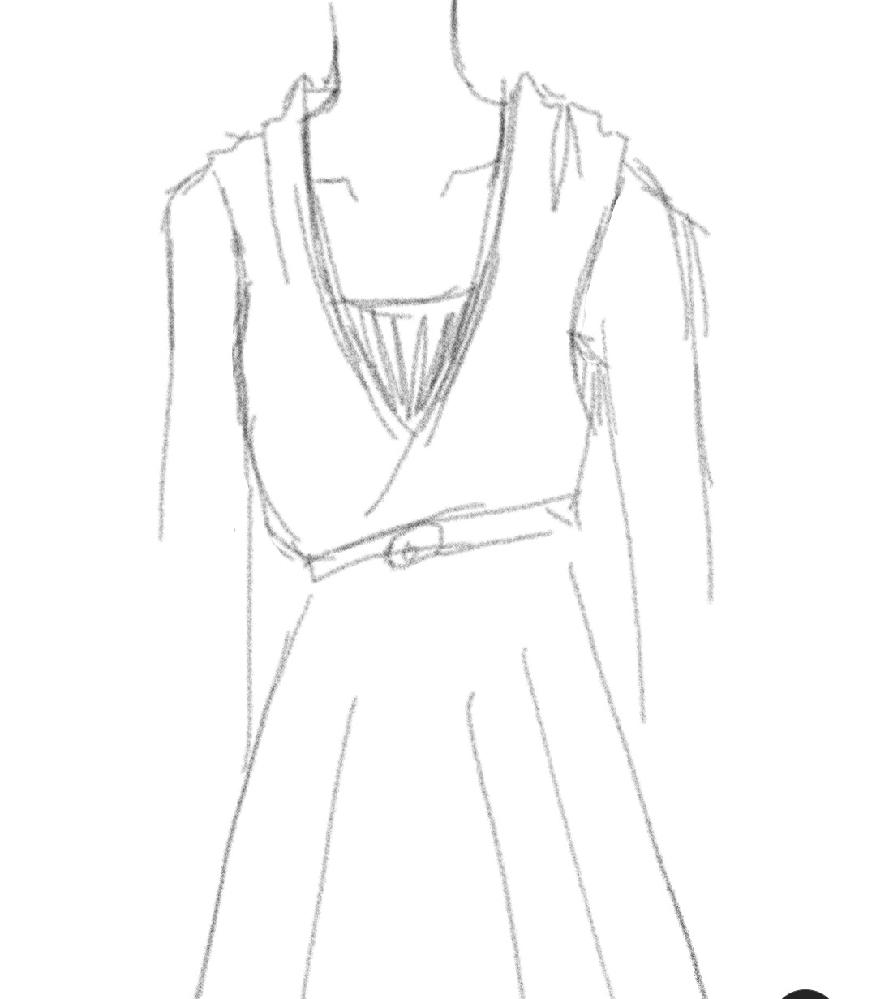 絵下手ですみません。 この服の種類、名前わかりますか?