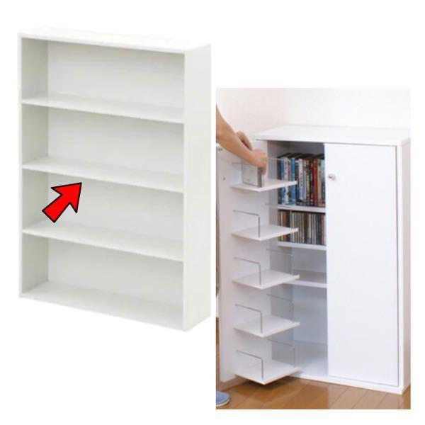 本棚を変えようと思っています。 私は画像の左のような普通の本棚を 今まで使ってきました。 でも最近矢印の部分、 板の裏の部分に埃のようなカビができたので 掃除しました。 そろそろ替えようかなと ...