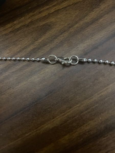 こういうタイプのネックレスのサイズ調節の仕方を教えてください。
