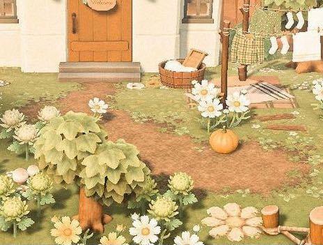 あつ森でこのような道を作りたいのですが、これはマイデザインですよね? これは道がマイデザインなのでしょうか?芝生がマイデザインなのでしょうか? 季節が変わった場合、芝生の色が変わると思うのですが、そのたびに敷きかえるのでしょうか...
