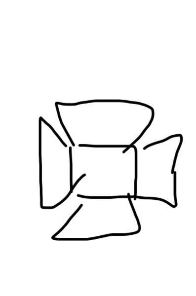 フードパックを使って切ったりして スマホの上に切り取って作ったものを乗っけて 立体なアート作品になるTikTokなどでもよく最近見かける流行りのアレなんて名前ですか?