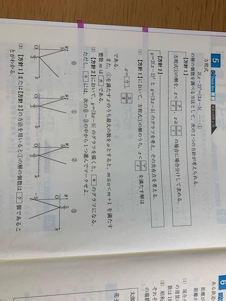 この問題の(3)についてなのですが、方針1を使った解の個数の求め方がわかりません。 よろしくお願いします