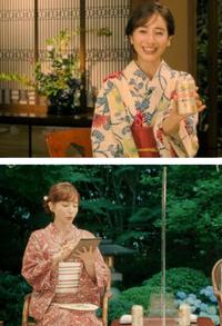 田中みな実さんの着用している2つの浴衣が どちらのかわかる方教えていただきたです。 よろしくお願いいたします。