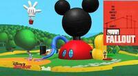 ミッキーマウスクラブハウスはディズニーにはないのですか?