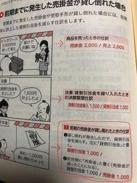 簿記3級貸倒引当金について。 分からない所があったので教えてください!  写真の赤く囲ってあるとこなんですが、 なぜ貸倒引当金1000/売掛金1000になるんですか??