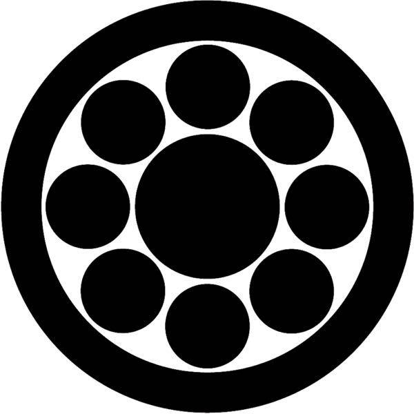 丸に九曜紋は系譜で辿ると何氏まで連なるのでしょうか? 丸があるということは分家の出自だと思われますが本家まで辿ると何氏に連なるのでしょうか?