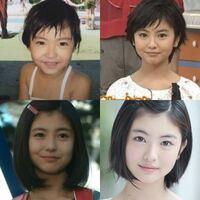 浜辺美波ちゃん子役時代からこの可愛さやばいです。 この歳でここまで可愛いのが有り得ないです。 漫画の美少女みたいです!! 芸能人で幼少期が浜辺美波より可愛い子はいないですよね??