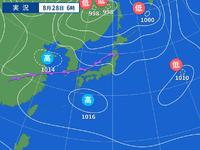 各局、ハローCQCQ…こちらは新潟市ですが風が強くなってきました。高気圧と高気圧との間に前線がありますがこれは何かの因果関係ありますか?
