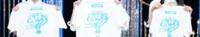坂道TシャツクイズPart142 画像のTシャツを持ってる  現役または元坂道メンバーは  左から誰と誰と誰でしょう?