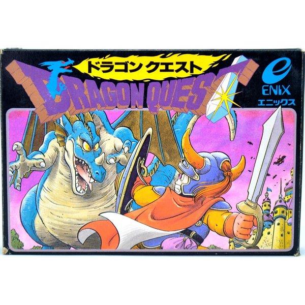下の画像での初代旧ファミコン版での初代ドラゴンクエストⅠとでは何でしょうか?教えて下さい。
