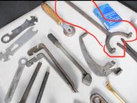 自転車整備の道具をオークションでかったのですが、分からないものが多く続けての質問です。この工具が何かご存知の方いらっしゃいますか?