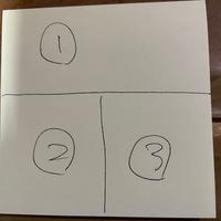 3枚の画像を1枚の正方形にまとめるのはどんなアプリを使えばいいのでしょうか?  写真グリッドというアプリを使ってるのですが、4枚は正方形になるけど、3枚はできないみたいです。 iPhone12です。  どうぞよろしくお願いします。