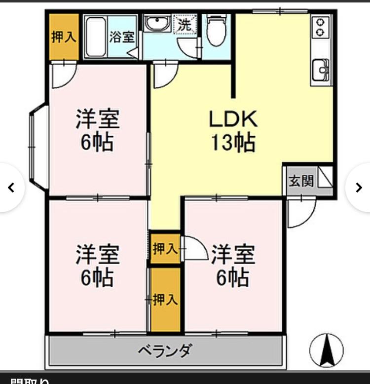 アパートに来月引越します。一人暮らしです。冷蔵庫は大きめ欲しくて356L購入。置き場所ですが、この間取りを見てどこに置くのがベストだと思いますか? あと、玄関開けるとリビングの中が丸見えです。同じ様な方はどの様に目隠ししてますか? 何をどこに置こうかとも悩んでおります。 参考になるアドバイスお願い致します。
