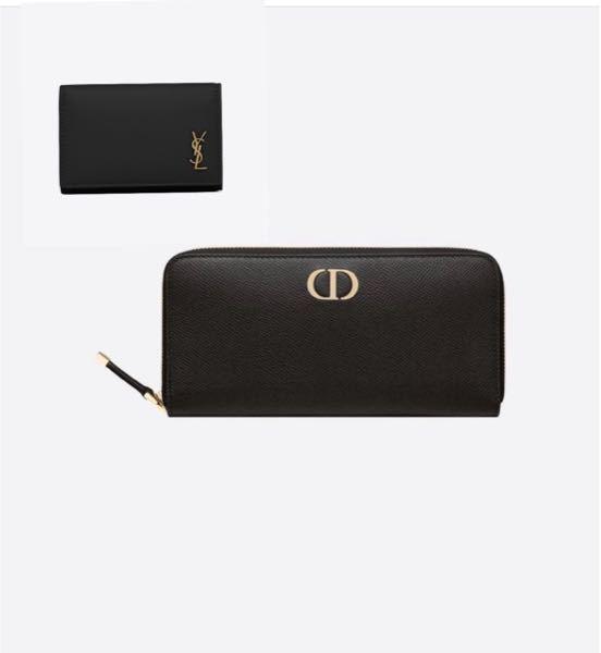 サンローランの左上のキーケース使っているんですが、Diorのこの財布はいいと思いますか?ブランドがバラバラだとおかしいですかね?