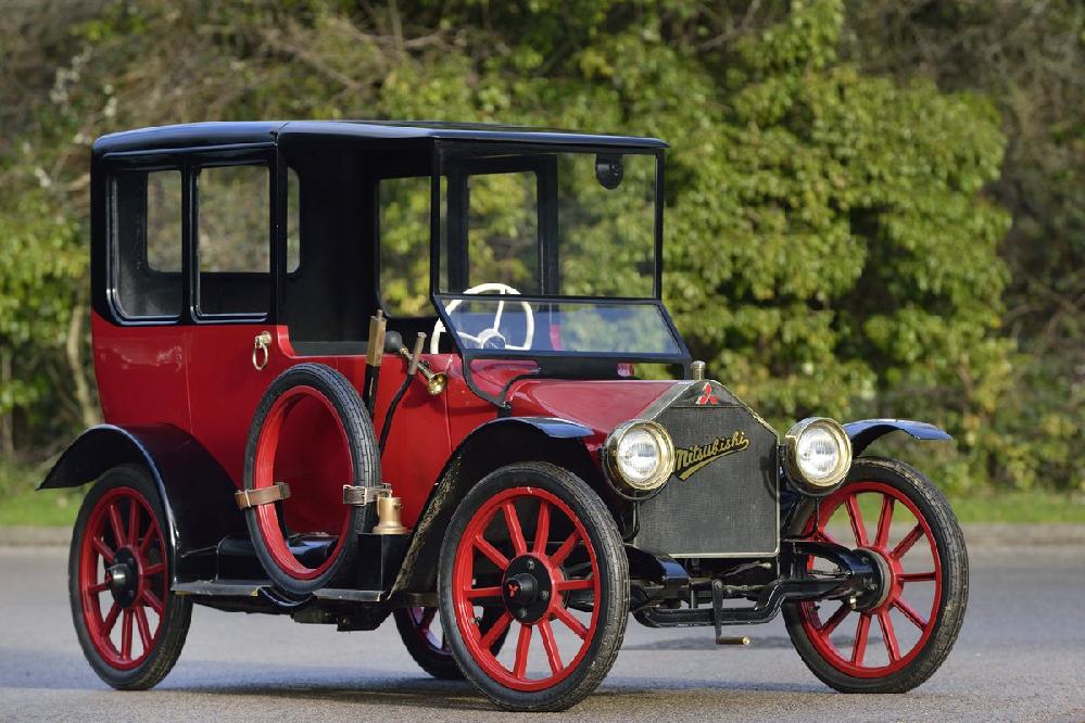 日本で4輪の自動車を初めて作ったのは三菱?
