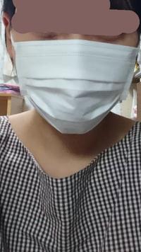 マスク小さいですか??