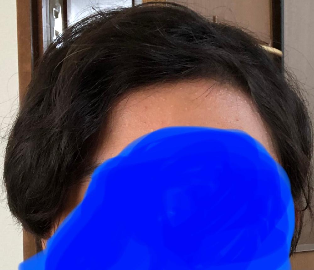 この髪型おかしくないですか? 前髪を8:2くらいで分けてます。